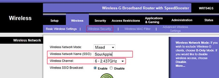 setting up a home wireless network